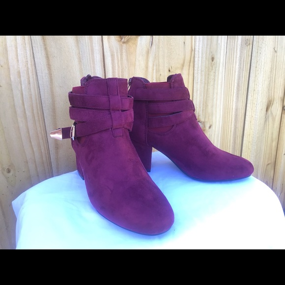 Shoes - Cherry booties.